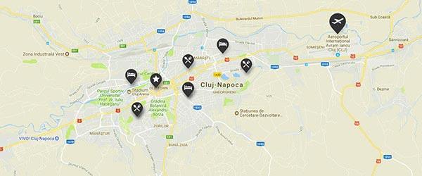 Harta Cluj Napoca Rutiera Harta Cluj Com
